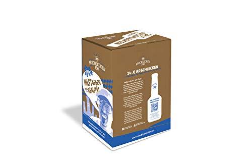 Calendario Arschlecken 350 Beer Advent - Edición de Navidad, 24 x 0.33l