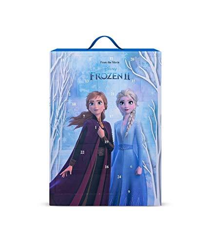 SIX Frozen II Calendario de Adviento para niños con bonitas joyas y accesorios para colgar o colocar de pie con diseño de Elsa y Anna (371-057)