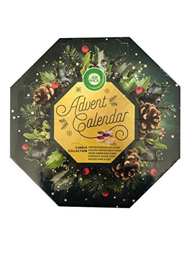 Advent Airwick - Vela perfumada con calendario de Navidad, 24 velas de 12,5 g