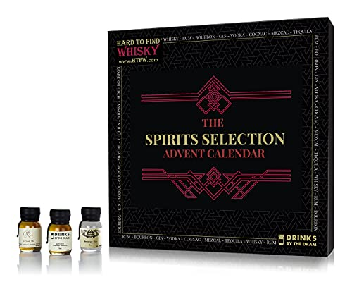 Hard To Find Mixed Spirits Selection - 24 Day - Advent Calendar 2021