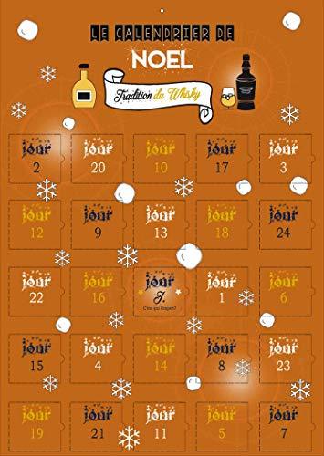 Calendario de Adviento de 25 días – Todo conocimiento sobre el whisky – regalo inusual para hombre – pareja – objeto inusual secretos del whisky – imágenes – regalo de apero hombre – Aperitif