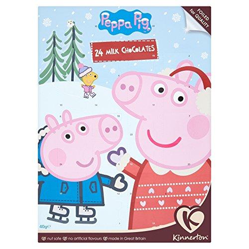 Kinnerton Peppa Pig Advent Calendar 24 Days 40g