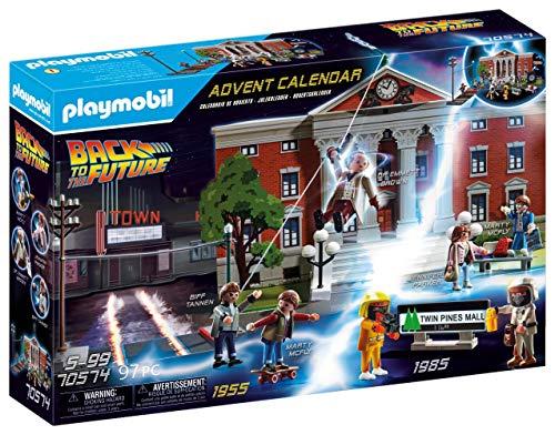 PLAYMOBIL Calendario De Adviento Back To The Future Juguete, Sin género, Multicolor, Única (70574)