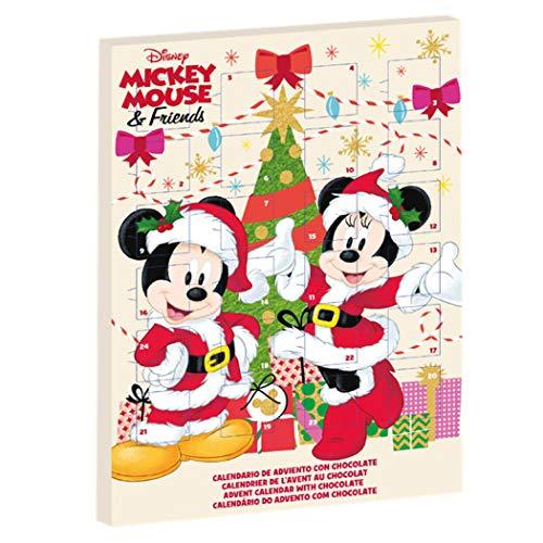 Disney Mickey & Minnie Mouse 2019 Chocolate con Leche Calendario de Adviento Exclusivo