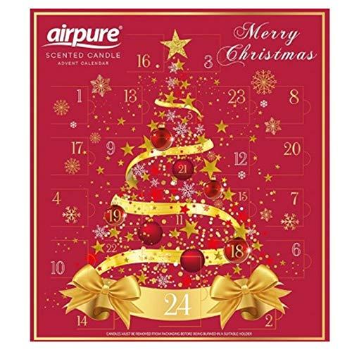 Pure Air AirPure - Calendario de Adviento con Vela aromática (2 diseños)