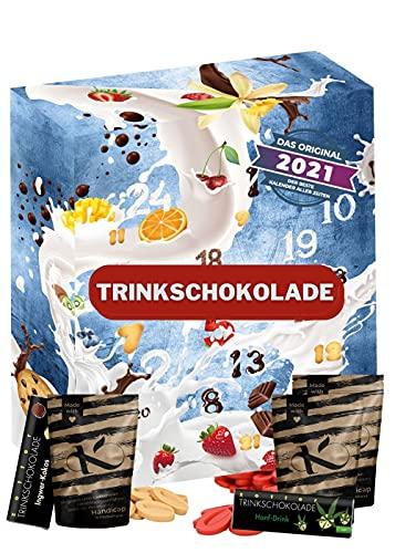 Chocolate para beber Calendario de Adviento Chocolate para beber I Pack de prueba de chocolate para beber para una deliciosa temporada de Adviento I Bolsitas deliciosas