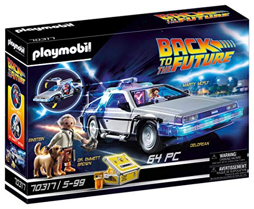 PLAYMOBIL Back to the Future 70317 DeLorean, a partir de 5 Años