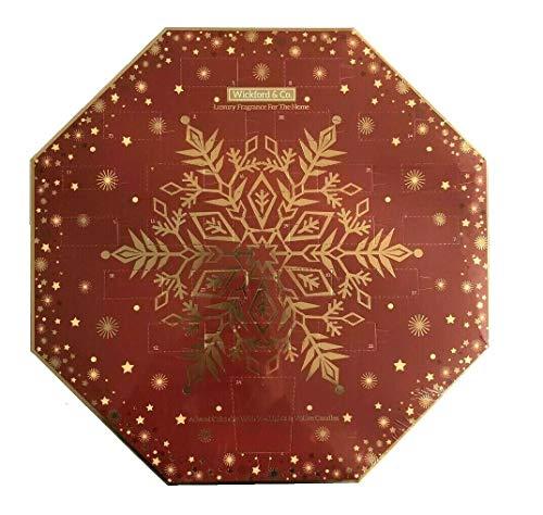 Wickford & Co - Calendario de adviento con Aroma a Vela de té y Velas votivas