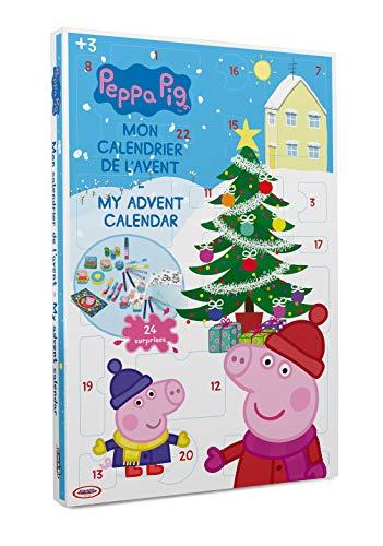 Peppa Pig DARP-CPEP086 Calendario de Adviento de Navidad con 24 sorpresas, Otros