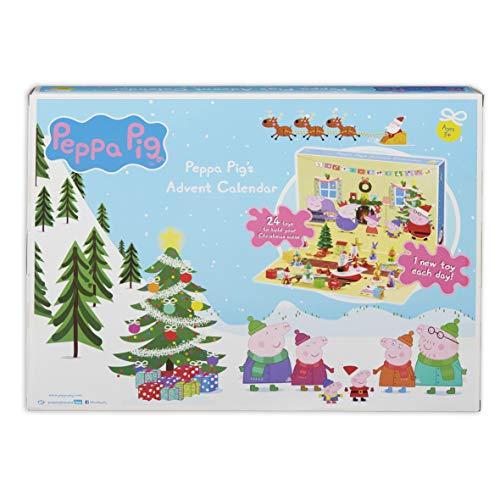 Peppa Pig 07136 - Calendario de adviento, Multicolor