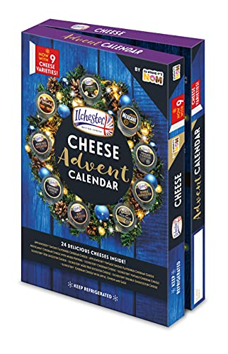 Ilchester Cheese Advent Calendar - 24 Individually Wrapped Cheese