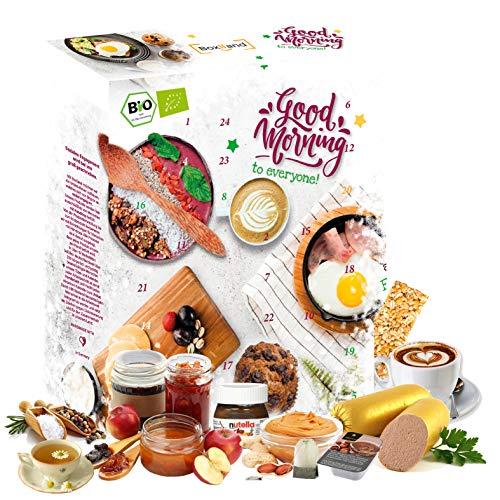 Desayuno del calendario de Adviento 2020 Empiezo bien el día Calendario especial para la temporada de Adviento, tengo un desayuno acogedor Disfrute de la idea de regalo Ideas de desayuno inusuales