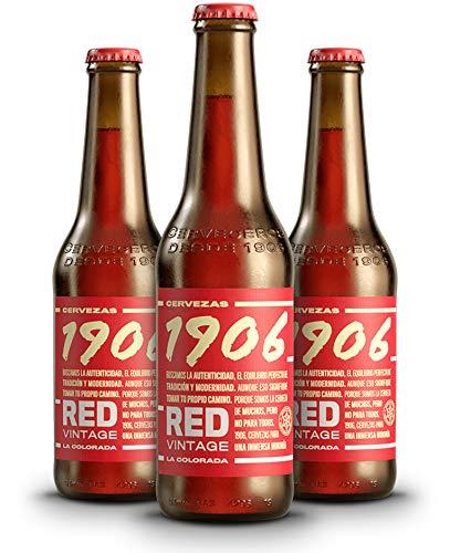 1906 Red Vintage Cerveza - Pack de 24 botellas x 330 ml - Total: 7.92 L