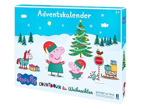 Jazwares PEP0658 - de Peppa Pig de Peppa Calendario de Adviento (versión Alemana)