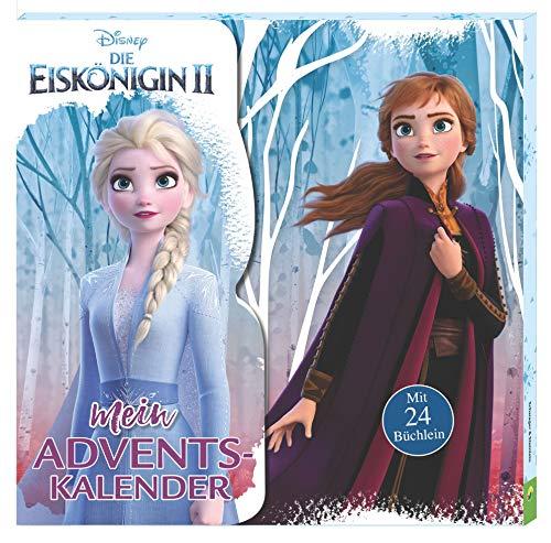 Die Eiskönigin 2: Mein Adventskalender: Kalenderbox mit 24 Mini-Büchlein für Kinder ab 3 Jahren