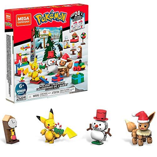 Mega Construx Pokémon Calendario de Adviento (Mattel GPV08)