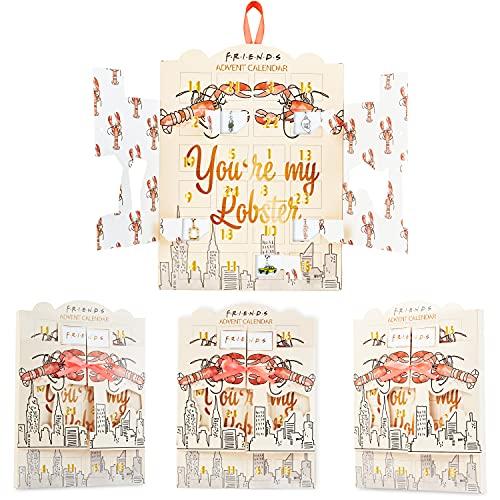 Friends Merchandising Calendario Adviento 2021, Calendario Adviento Joyas para Mujer, Adolescentes y Niñas con 24 Accesorios
