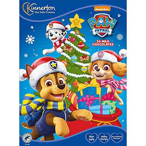 Kinnerton Nickelodeon Paw Patrol Chocolate Advent Calender 40g