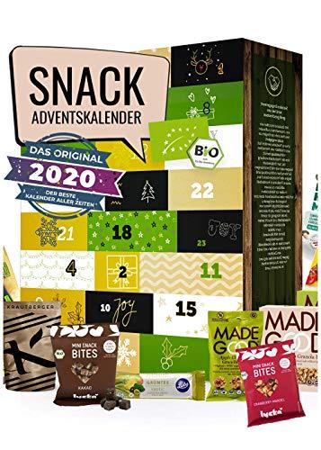 Snack Calendario de Adviento 2020 Calendario de Adviento para bocadillos I para el pequeño apetito intermedio I deliciosos bocadillos para la temporada de Adviento I deliciosa Navidad