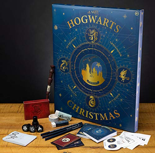 HARRY POTTER-Con Licencia Oficial, Calendario de Cuenta Regresiva de Navidad, Color Standard (Paladone Products Ltd PP7208HP)