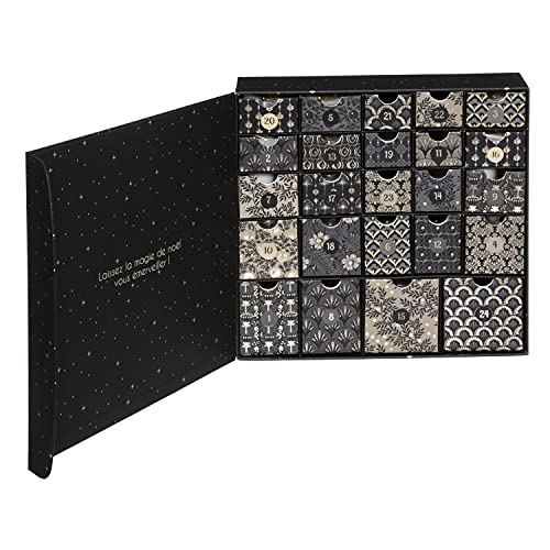 Calendario de Adviento en caja x 24