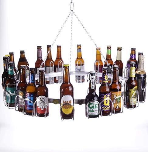 BIERSAFE SAFEPRINT Cerveza de Cerveza Corona/Anillo para 24Botellas Calendario de Adviento/lúpulo Corona/Cosecha Gracias a/Mayo Árbol de Ring, Cerveza de Anillo