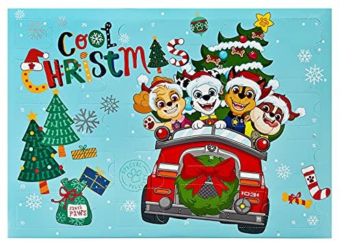 Undercover- Paw Patrol Calendario de Adviento para niños, Multicolor (PPBT8024)