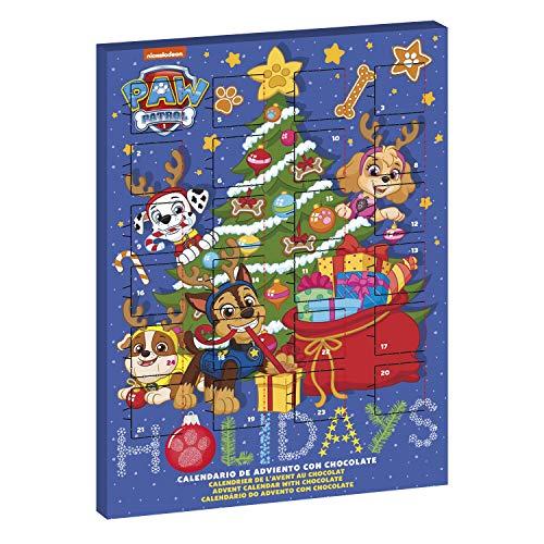 Dekora La Patrulla Canina Holidays 2020 Chocolate con Leche Calendario de Adviento Exclusivo