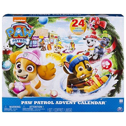 Paw Patrol 6045038 - Calendario de Adviento 2018 de La Patrulla Canina