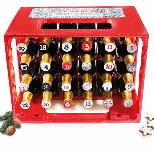 Pegatinas para caja de cerveza de Adviento