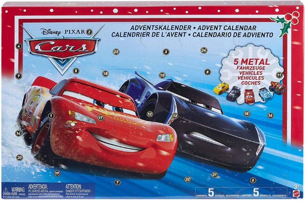 CALENDARIO DE ADVIENTO DE CARS