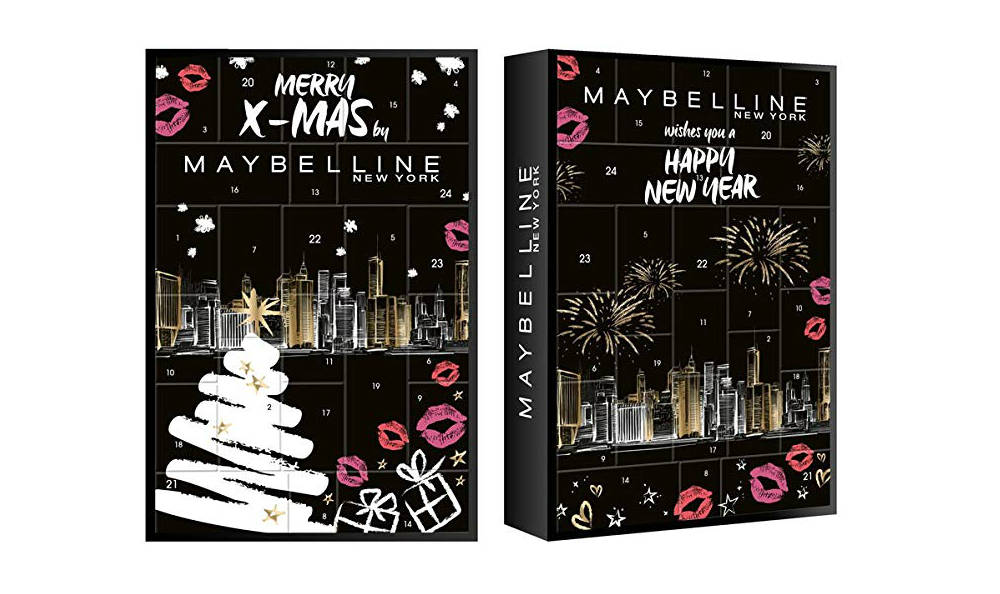 CALENDARIO MERRY XMAS MAYBELLINE