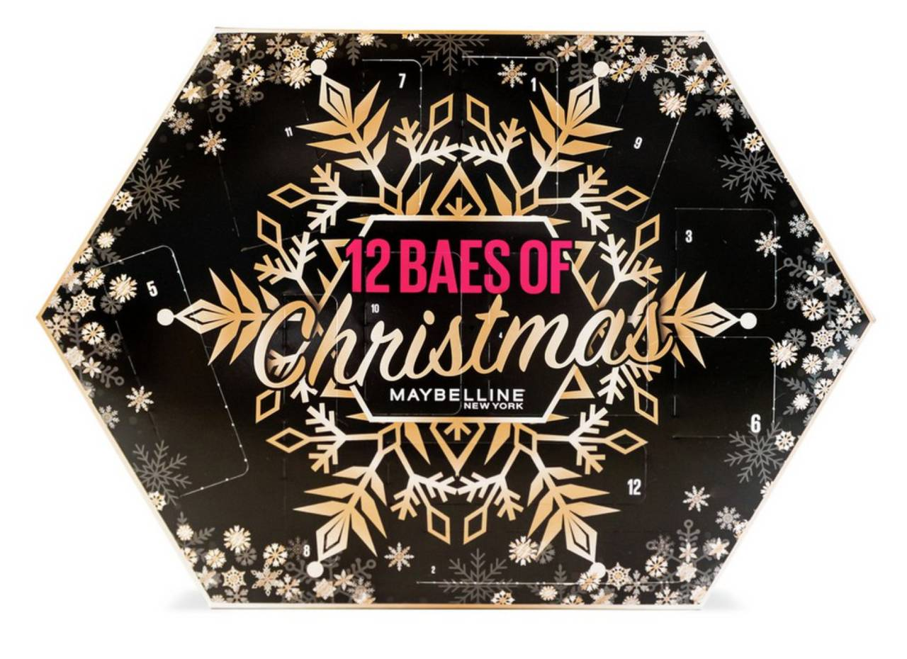 Calendario 12 Baes of Christmas de Maybelline 2020