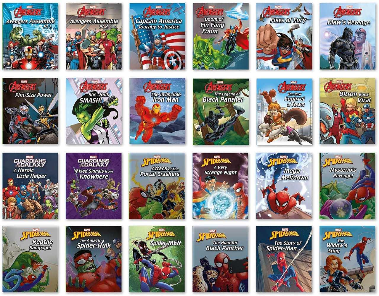 Calendario Adviento Marvel Libros 2021