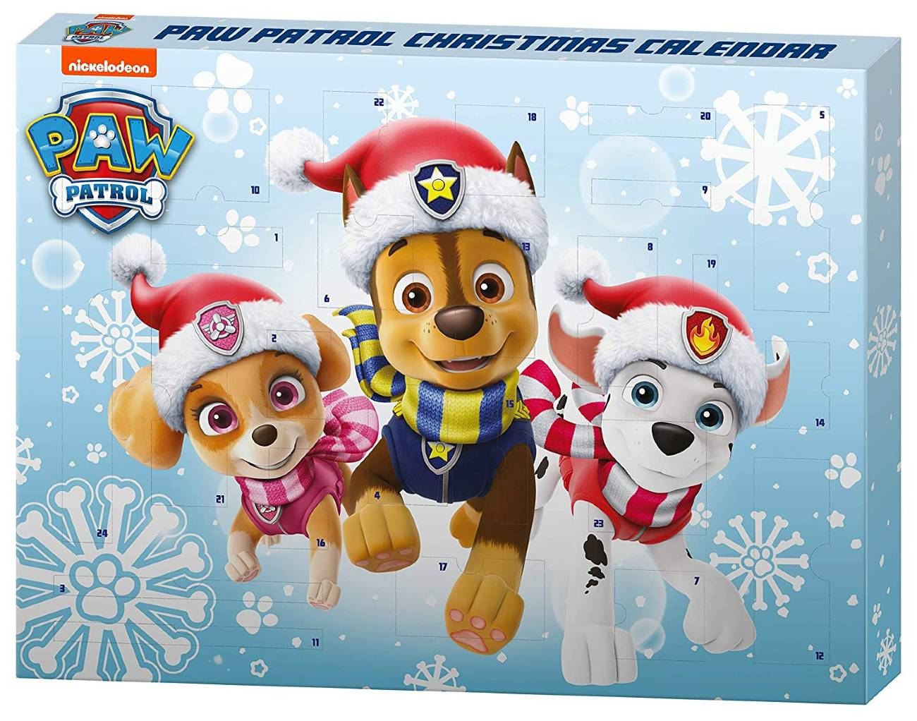 Calendario Adviento Patrulla Canina 2020