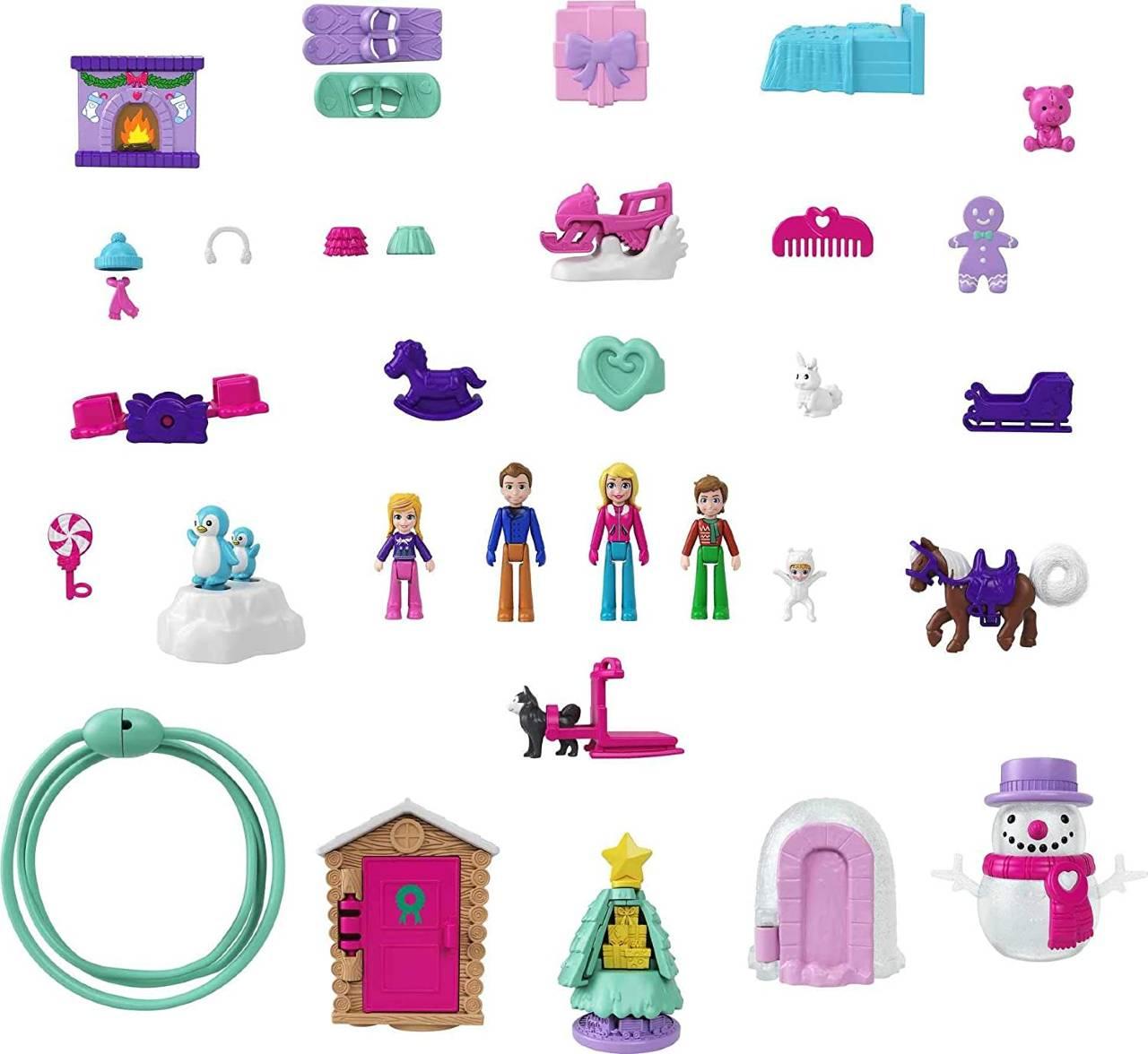 juguetes de Polly Pocket 2021