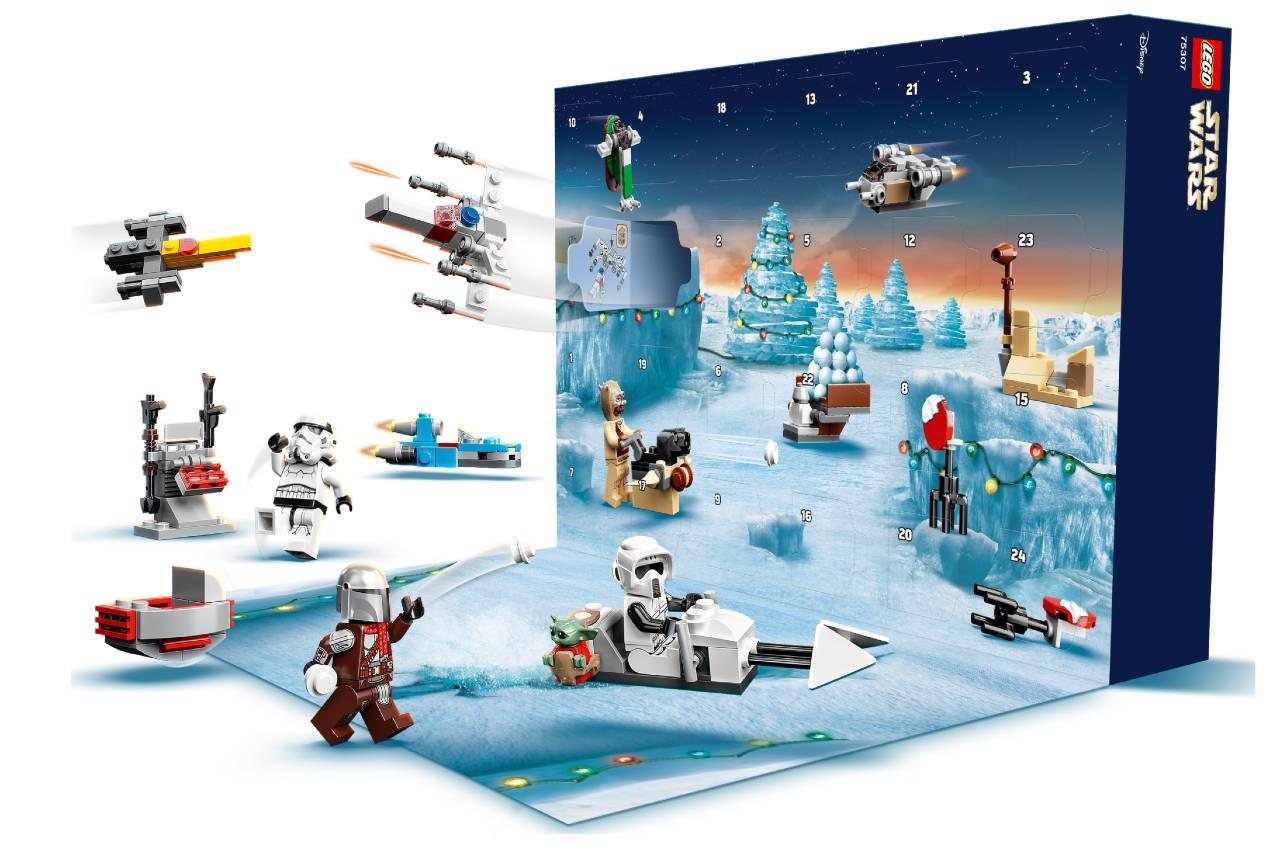 Calendario Adviento Star Wars Lego 2021