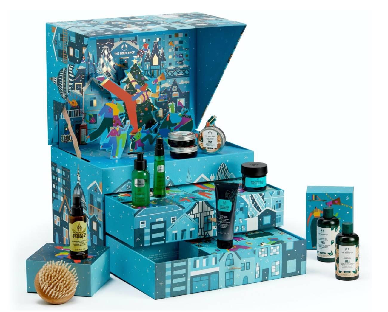 Calendario azul Body Shop 2021