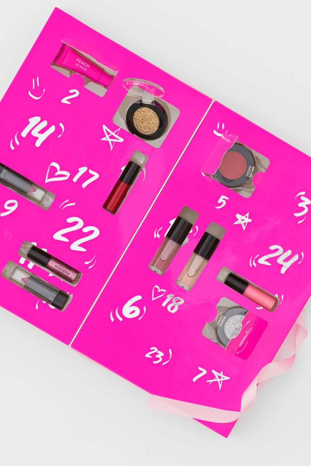 Calendario H&M de maquillaje 2021