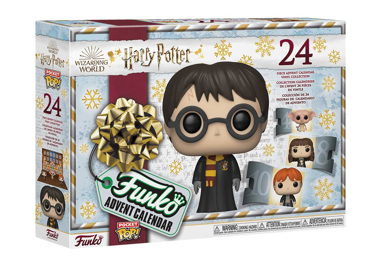 Calendario Harry Potter Funko Pop 2021
