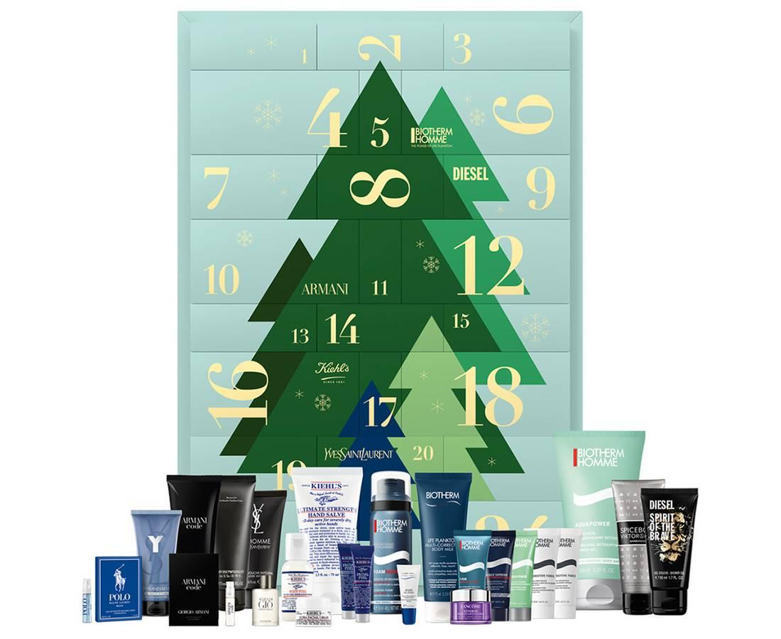 Calendario L'Oréal Luxury 2020 para hombres