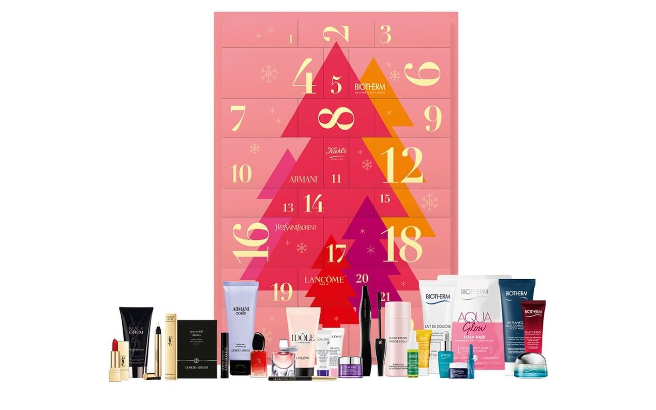 L'Oréal Luxury 2020 calendario para mujeres