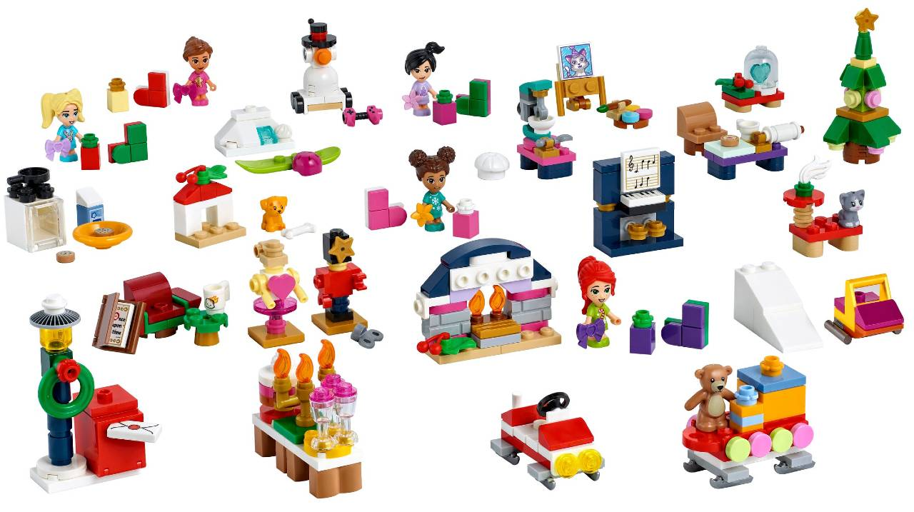 Calendario Lego Friends 2021