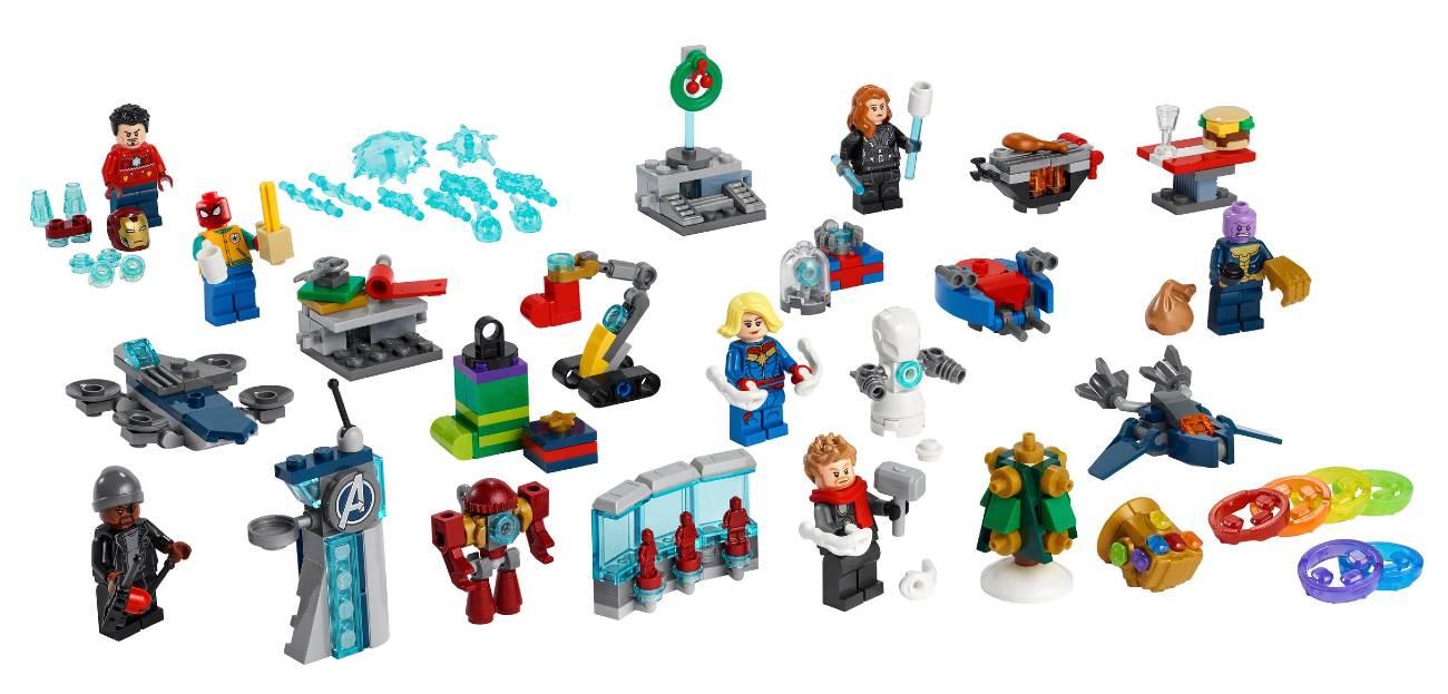 Calendario Lego Los Vengadores 2021