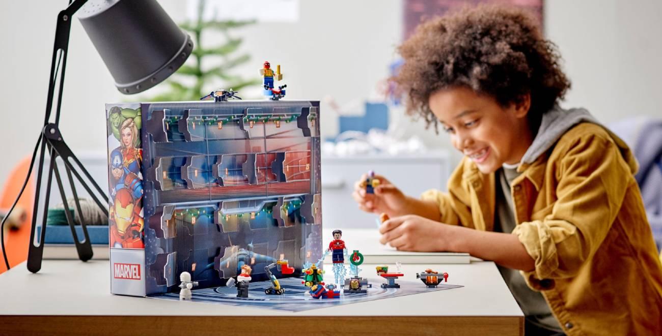 Calendario Lego Marvel 2021