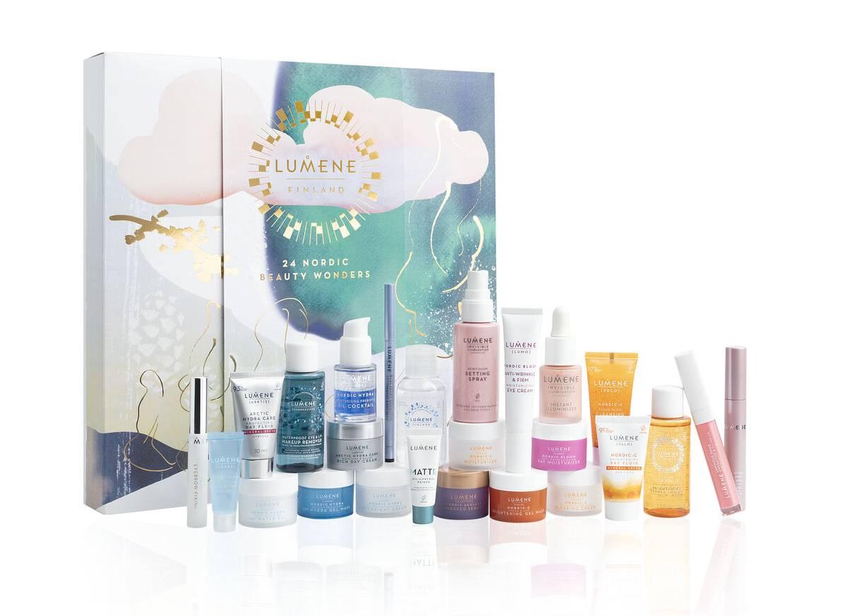 Calendario Lumene 2021 productos