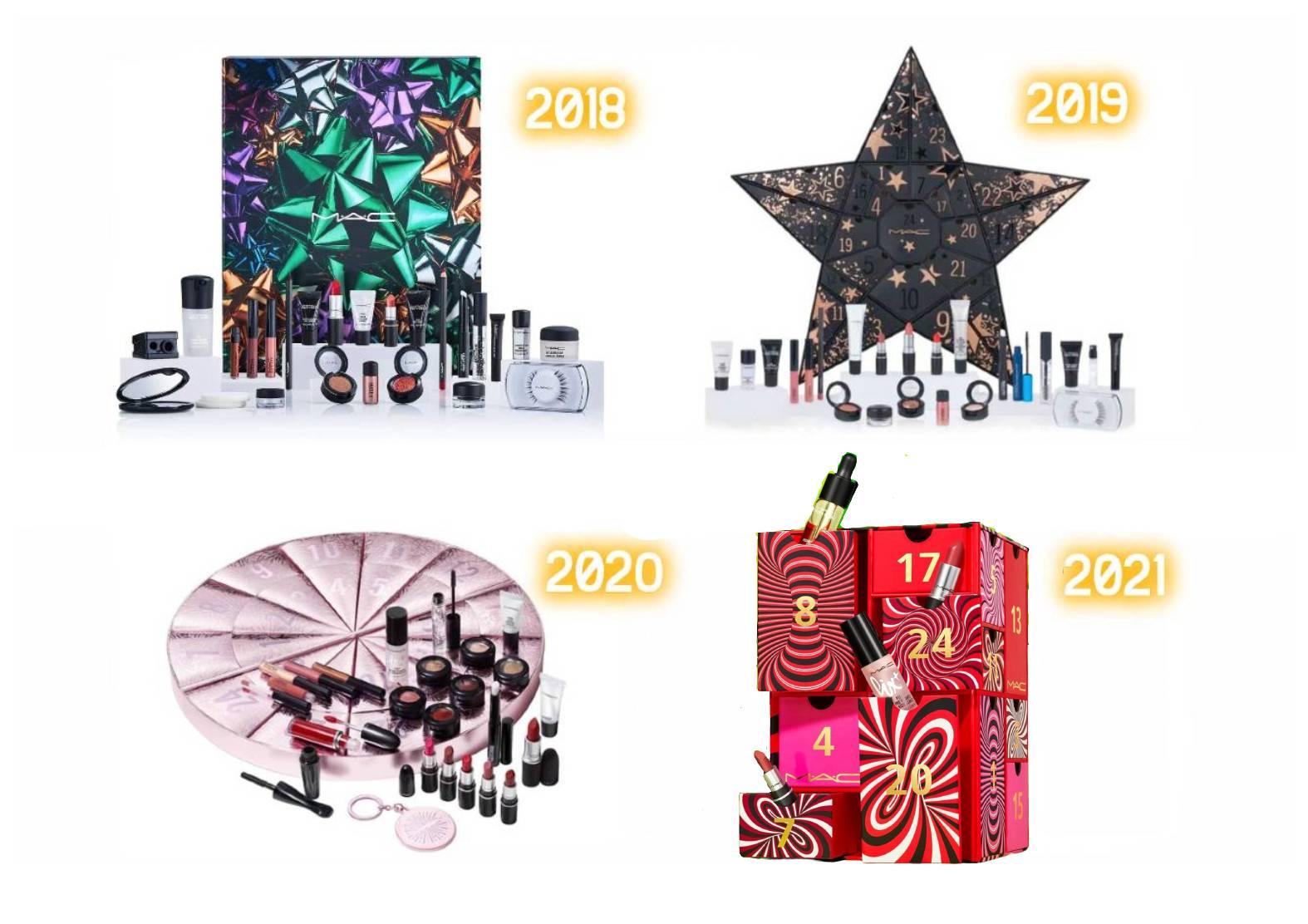 Calendario MAC Cosmetics 2021