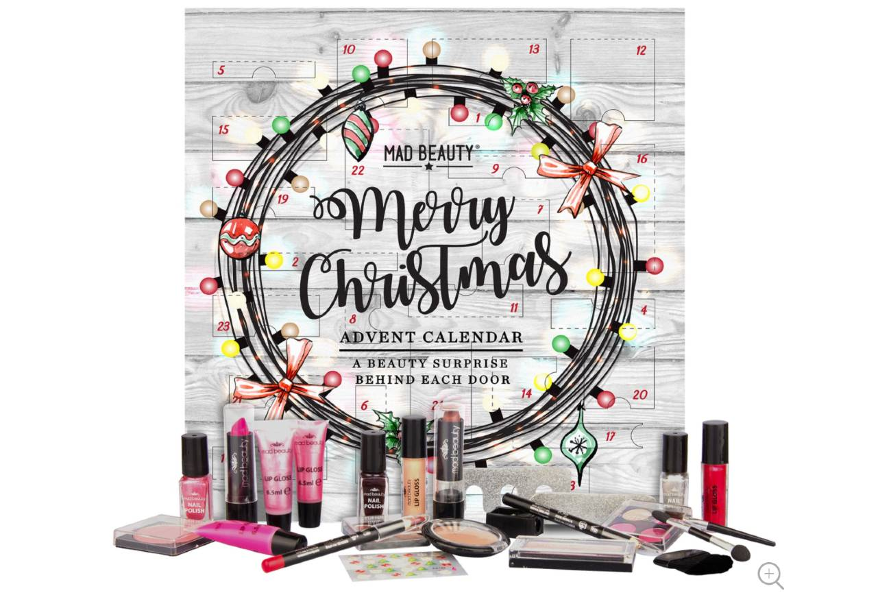 Calendario Merry Christmas 2020 de Mad Beauty