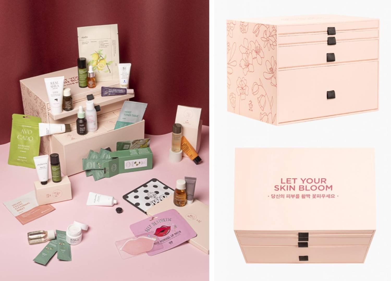 Calendario MiiN 2021 Let your skin bloom