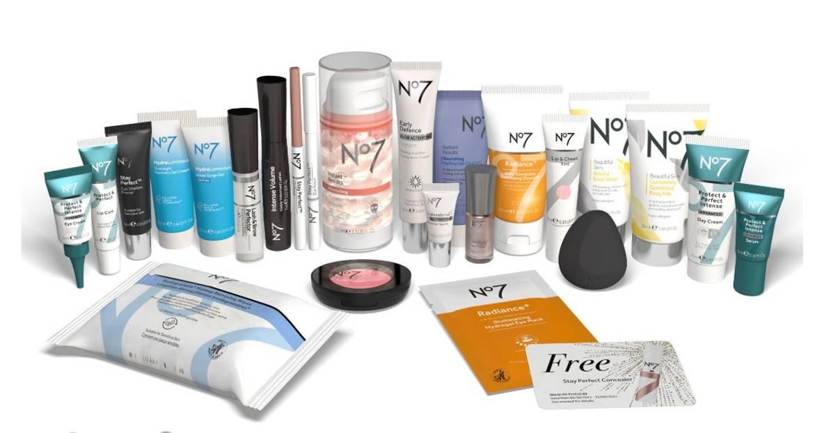Calendario N7 2021 productos